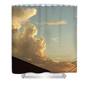 Bear Cloud Shower Curtain