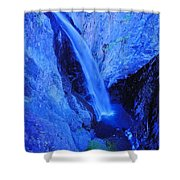 Bear Creek Falls Clolorado Shower Curtain