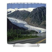 Bear Glacier Shower Curtain
