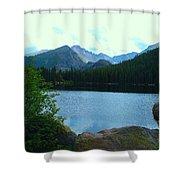 Bear Lake - Colorado Shower Curtain