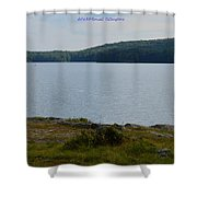 Bear Mountain Shower Curtain