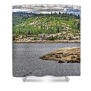 Bear River Creek Reservoir Shower Curtain