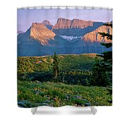 Bear Valley Glacier National Park Shower Curtain