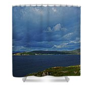Beara Peninsula West Kerry - On The Road To Lauragh Shower Curtain