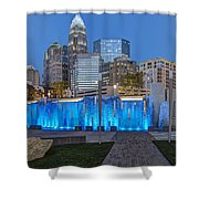 Bearden Blue Shower Curtain