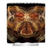 Beary Cool Shower Curtain