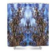 Beast In The Sacred Forest Shower Curtain