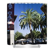 Beat Cal Sign Stanford University Shower Curtain