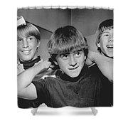 Beatle Haircuts Get Reprieve Shower Curtain