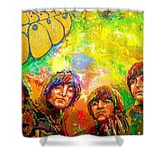Beatles Rubber Soul Shower Curtain