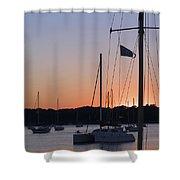 Beaufort Sc Sunset Shower Curtain