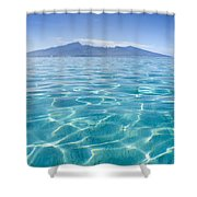 Beauitful Seascape Of Moorea Shower Curtain