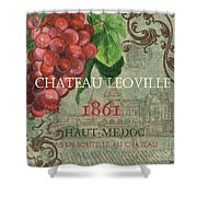 Beaujolais Nouveau 1 Shower Curtain