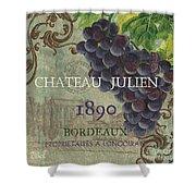 Beaujolais Nouveau 2 Shower Curtain