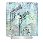 Beaumont Revlover Shower Curtain