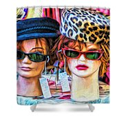 Beauties For Sale Shower Curtain