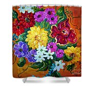 Beauties In Bloom Shower Curtain