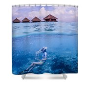 Beautiful Above And Below 2 Shower Curtain