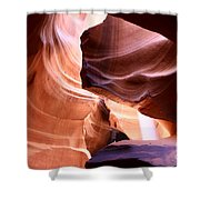Beautiful Antelope Canyon Colors Shower Curtain