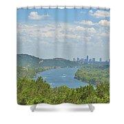 Beautiful Austin Texas Shower Curtain