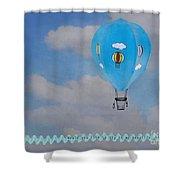 Beautiful Balloon Shower Curtain