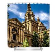 Beautiful Barcelona  Shower Curtain
