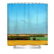 Beautiful Bay In A Desert Shower Curtain