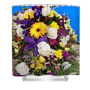 Beautiful Bouquet Of Flowers Shower Curtain