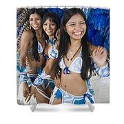 Beautiful Women Of Brazil 2 Shower Curtain
