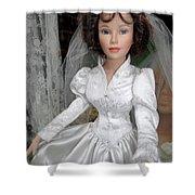Beautiful Bride Shower Curtain