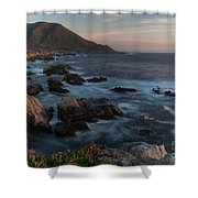 Beautiful California Coast In Spring Shower Curtain