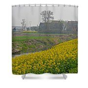 Beautiful China's Rural Scenery Shower Curtain
