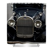 Beautiful Classic Car Front View Shower Curtain