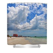 Beautiful Clearwater Beach Shower Curtain