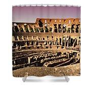 Beautiful Colosseum Rome Shower Curtain