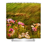 Beautiful Cosmos Shower Curtain