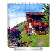 Beautiful Cottage Shower Curtain