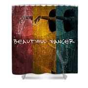 Beautiful Dancer Shower Curtain