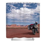 Beautiful Day For A Ride Shower Curtain