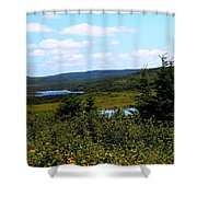 Beautiful Day In The Country Shower Curtain