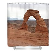 Beautiful Delicate Arch Shower Curtain