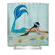 Beautiful Dreamer Shower Curtain