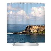 Beautiful El Morro Shower Curtain