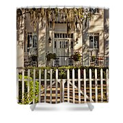 Beautiful Entryway On The Isle Of Hope Shower Curtain