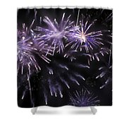 Beautiful Fireworks 7 Shower Curtain
