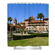 Beautiful Flagler College Shower Curtain