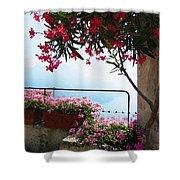 Beautiful Flowers Of Ravello Italy Shower Curtain
