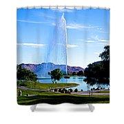 Beautiful Fountain Shower Curtain
