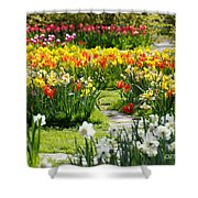 Beautiful Garden Shower Curtain