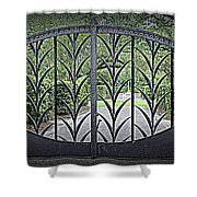 Beautiful Gate Shower Curtain